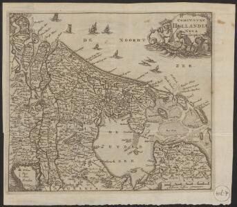 Comitatus Hollandiæ nova descriptio