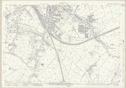 Staffordshire XXXVII.15 (includes: Stafford) - 25 Inch Map