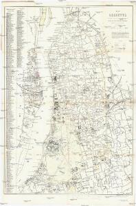 Plan of Calcutta