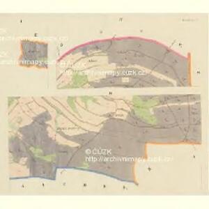 Lobendau - c4186-1-001 - Kaiserpflichtexemplar der Landkarten des stabilen Katasters