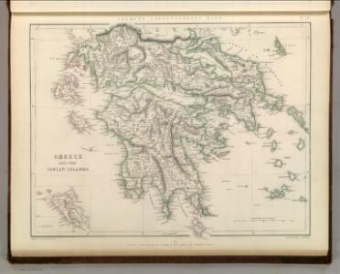 Greece and the Ionian Islands.