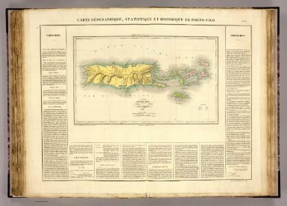 Porto Rico, Iles Vierges.
