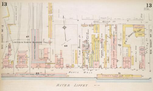 Insurance Plan of the City of Dublin Vol. 1: sheet 13-1