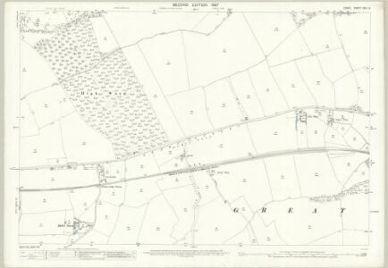 Essex (1st Ed/Rev 1862-96) XXIII.16 (includes: Great Dunmow; Little Canfield; Little Easton) - 25 Inch Map