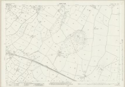 Anglesey XVII.11 (includes: Aberffro; Llanfaelog) - 25 Inch Map