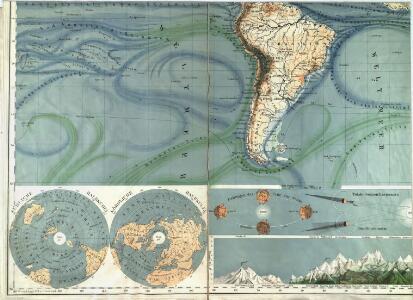 Physikalische Wandkarte der Erde in Merkartor's Projection