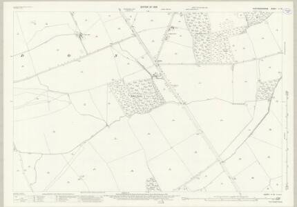 Huntingdonshire V.10 (includes: Alwalton; Folksworth and Washingley; Haddon; Morborne; Orton Longueville; Orton Waterville; Yaxley) - 25 Inch Map