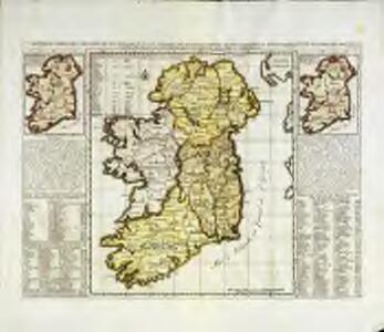Nouvelle carte de l'Irlande