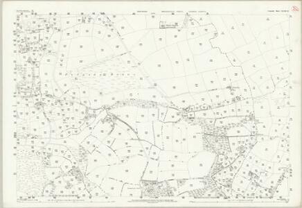 Cornwall XLVIII.11 (includes: Perranzabuloe; St Allen) - 25 Inch Map