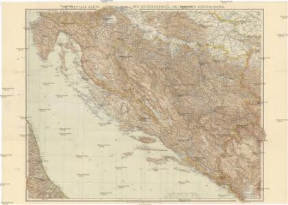 G. Freytags Karte der österreichisch-ungarischen Küstenländer