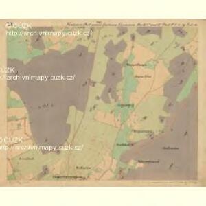 Eisenstein Dorf - c7755-2-011 - Kaiserpflichtexemplar der Landkarten des stabilen Katasters