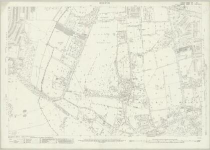 London (1915- Numbered sheets) VIII.10 (includes: Mortlake; Wandsworth Borough) - 25 Inch Map