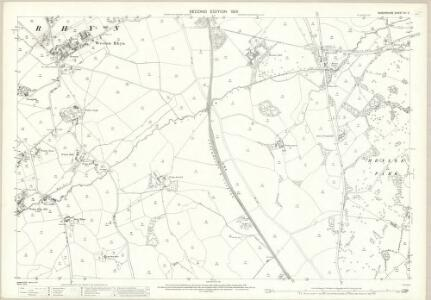 Shropshire XII.2 (includes: St Martins; Weston Rhyn; Whittington) - 25 Inch Map
