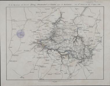 Zu den Operationen der Generale Syburg, Schenkendorf und Linden gegen die Reichsarmee, vom 15ten Februar bis zum 5ten April 1761