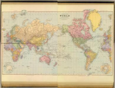 Composite: World on Mercator's projection.