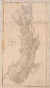 Carta Corográfica del Estado del Cauca