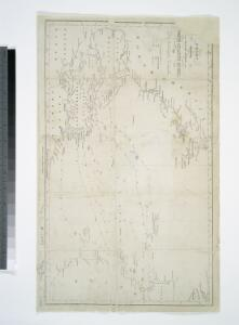 Chart shewing the tracks across the North Atlantic Ocean, of Don Christopher Columbus / eng'd by W. Kemble.