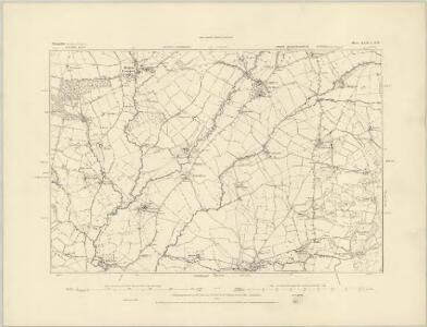 Shropshire LXXI.NE - OS Six-Inch Map