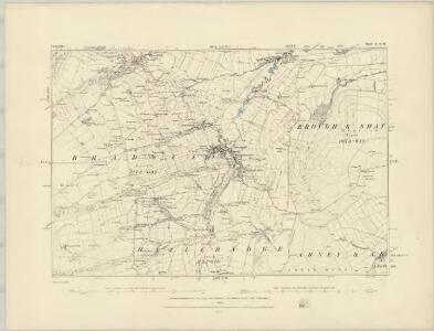 Derbyshire IX.NE - OS Six-Inch Map