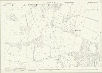Hertfordshire XL.4 (includes: Bishops Hatfield; North Mimms) - 25 Inch Map