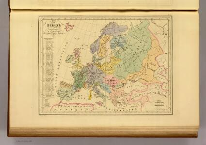 Europe en 1100.