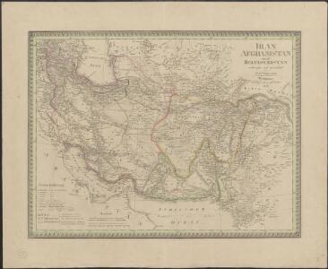 Iran, Afghanistan und Beludschistan