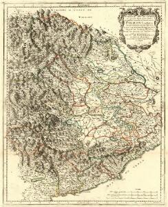 Estats du Duc de Savoye de delà des Alpes et vers l'Italie :