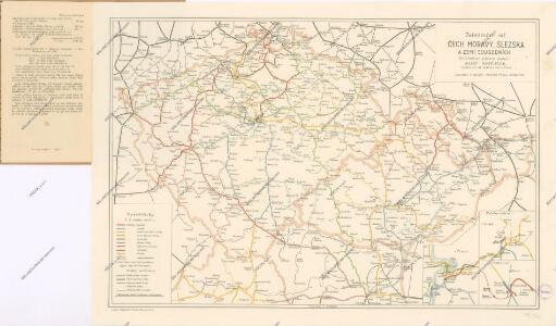 Železniční síť Čech, Moravy, Slezska a zemí sousedních