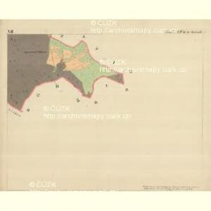 Stoitzen - m2885-1-007 - Kaiserpflichtexemplar der Landkarten des stabilen Katasters