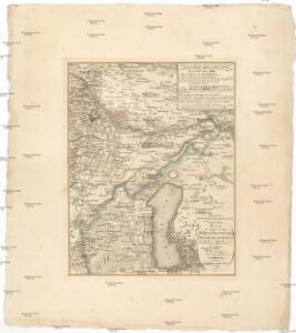 Plan der Gegend zwischen Wien, Neustadt, Presburg und OEdenburg