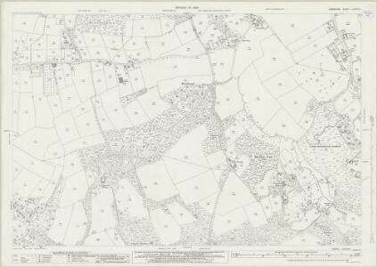 Hampshire and Isle of Wight LXXXVIII.1 (includes: Lymington; Sway) - 25 Inch Map
