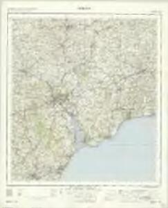 Exeter - OS One-Inch Map