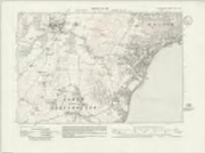Lancashire XVII.NE - OS Six-Inch Map