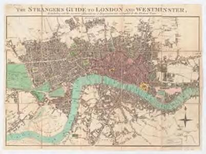 The stranger's guide to London and Westminster exhibiting all the various alterations and improvements, complete to the present time