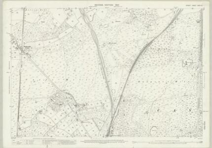 Dorset XXXIV.16 (includes: Corfe Mullen; Poole) - 25 Inch Map
