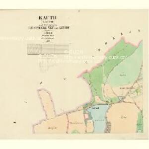 Kauth (Kauto) - c3429-1-001 - Kaiserpflichtexemplar der Landkarten des stabilen Katasters