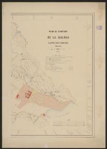 Plan de situation de la Maloja, Canton des Grisons, Suisse