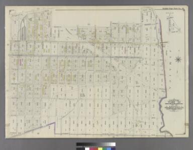 Part of Ward 26. Land Map Section, No. 13. Volume 1, Brooklyn Borough, New York City.
