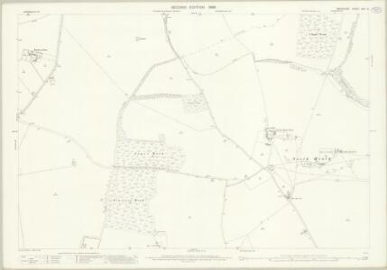 Berkshire XXVI.16 (includes: Boxford; Chieveley; Leckhampstead; Peasemore; Winterbourne) - 25 Inch Map