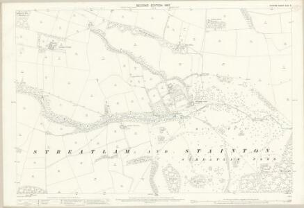 Durham XLVII.9 (includes: Streatlam And Stainton) - 25 Inch Map