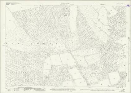 Surrey XXIV.15 (includes: Albury; East Clandon; Shere; West Clandon; West Horsley) - 25 Inch Map