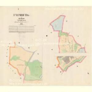 Frimburg - c9391-2-001 - Kaiserpflichtexemplar der Landkarten des stabilen Katasters