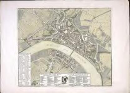 Grundriss der Stadt Basel