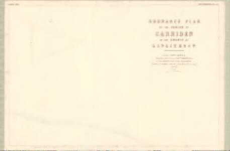 Linlithgow, Sheet II.5 (with inset II.10) (Carriden) - OS 25 Inch map