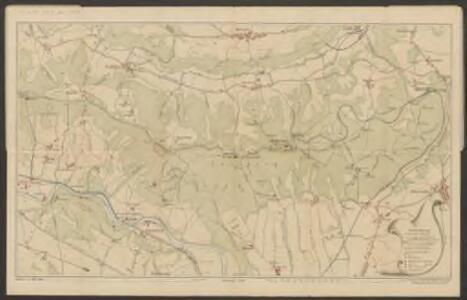 Karte vom Uetliberg