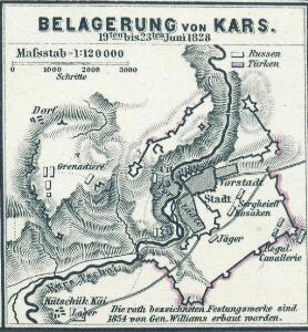 Belagerung von Kars  19ten bis 23ten Juni 1828