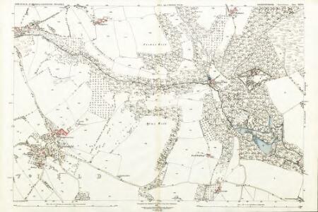 Gloucestershire XLVI.8 (includes: Alvington; Hewelsfield; St Briavels) - 25 Inch Map