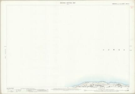 Hampshire and Isle of Wight LXXXII.13 (includes: Cowes) - 25 Inch Map