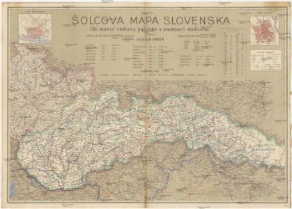 Šolcova mapa Slovenska