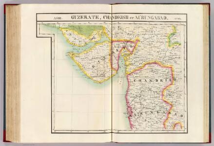 Guzerate, Chandeish et Aurungabad. Asie 93.